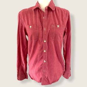American Eagle Athletic Fit Button Down
